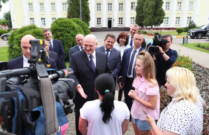 Лукашенко: Когда рыльце в пушку – не лезь в Президенты! Потому что тебя измочалит сам народ