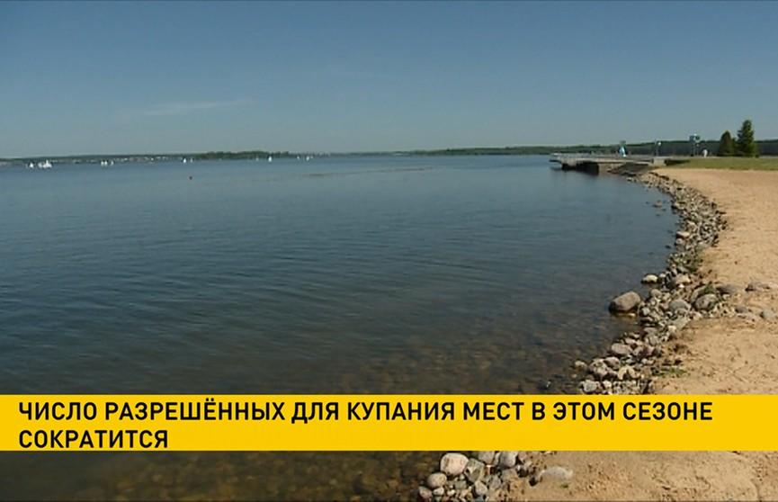 Мест, разрешённых для купания в Беларуси, станет меньше в этом сезоне