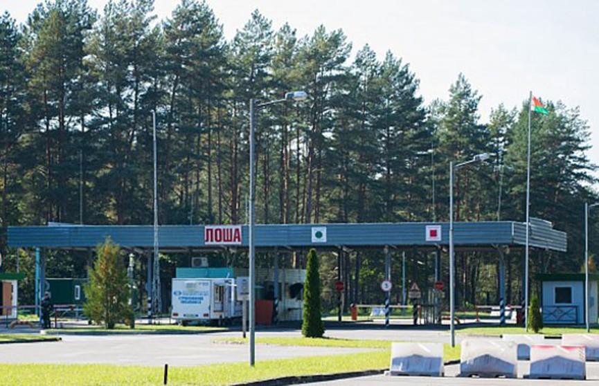 Проезд через пункт пропуска «Лоша» будет затруднён с 21 июля