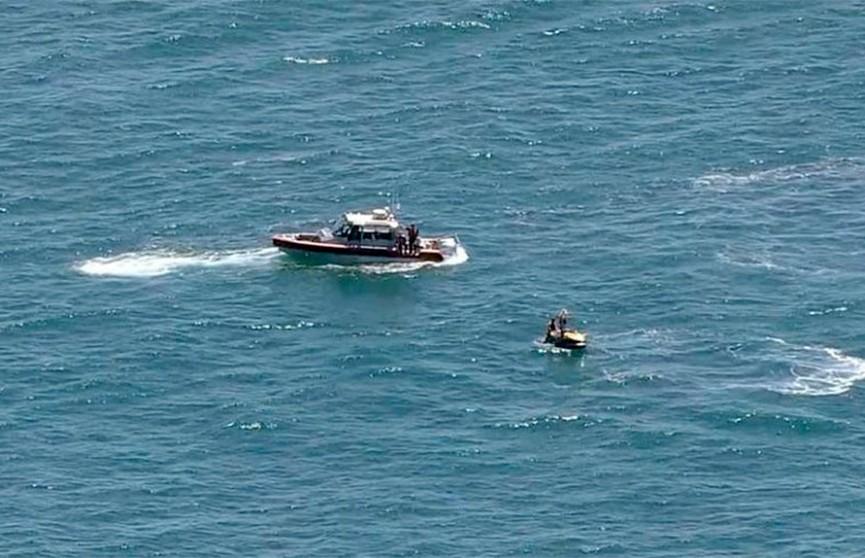 Самолет рухнул в океан у побережья Нью-Джерси