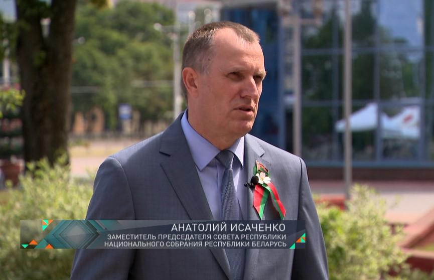 Анатолий Исаченко: Беларуси есть чем гордиться, у нас много достижений