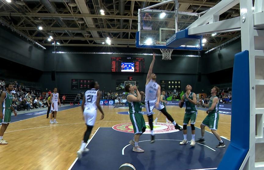 «Цмоки-Минск» обыграл «Борисфен» в финальной серии чемпионата Беларуси по баскетболу