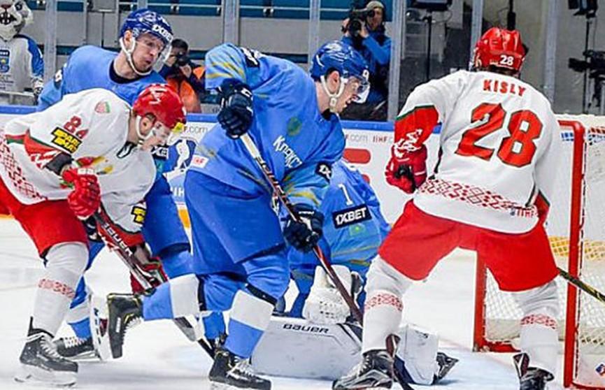 Чемпионат мира по хоккею: сборная Беларуси проиграла в овертайме Казахстану