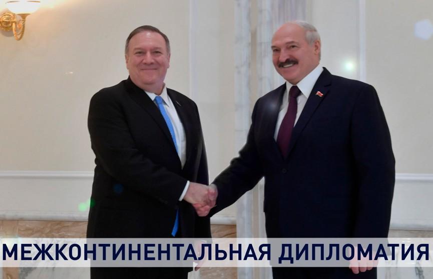 Политика, экономика или дипломатия – чего больше в визите Помпео в Минск? Детальный разбор
