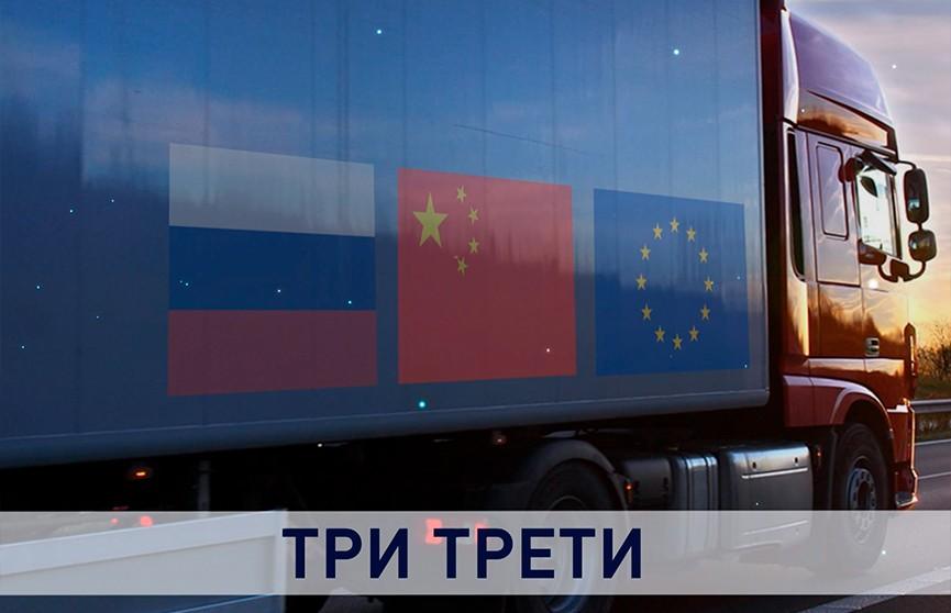 Три трети. Рост экспорта в Китай помогает Беларуси выйти на целевую формулу