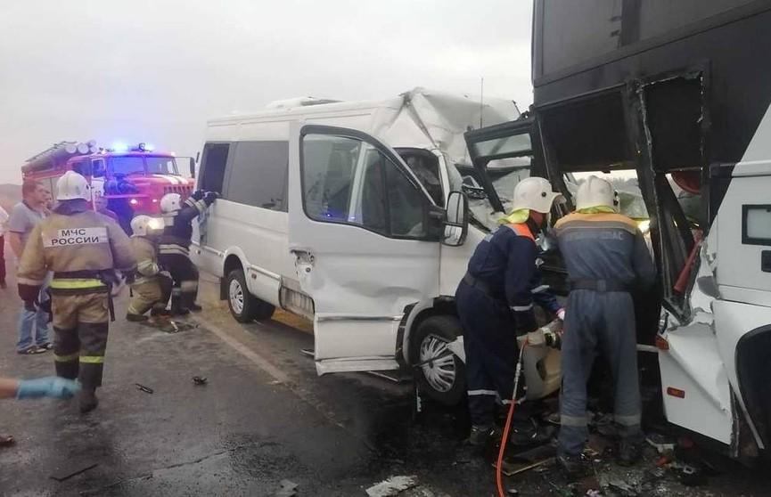 ДТП с микроавтобусом в Анапе: есть пострадавшие, один человек погиб