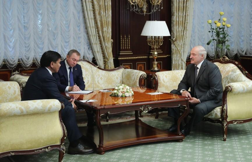 Лукашенко: Возможности сотрудничества Беларуси и Казахстана еще более весомы, нежели достижения