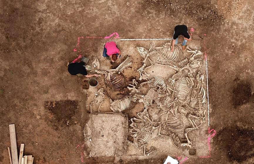 В Германии обнаружили загадочную гробницу возрастом 1,5 тыс. лет