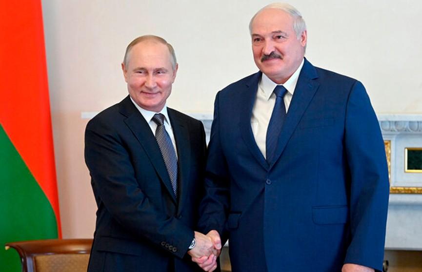 Наталья Эйсмонт рассказала, какие темы Лукашенко и Путин обсудили на встрече в Санкт-Петербурге