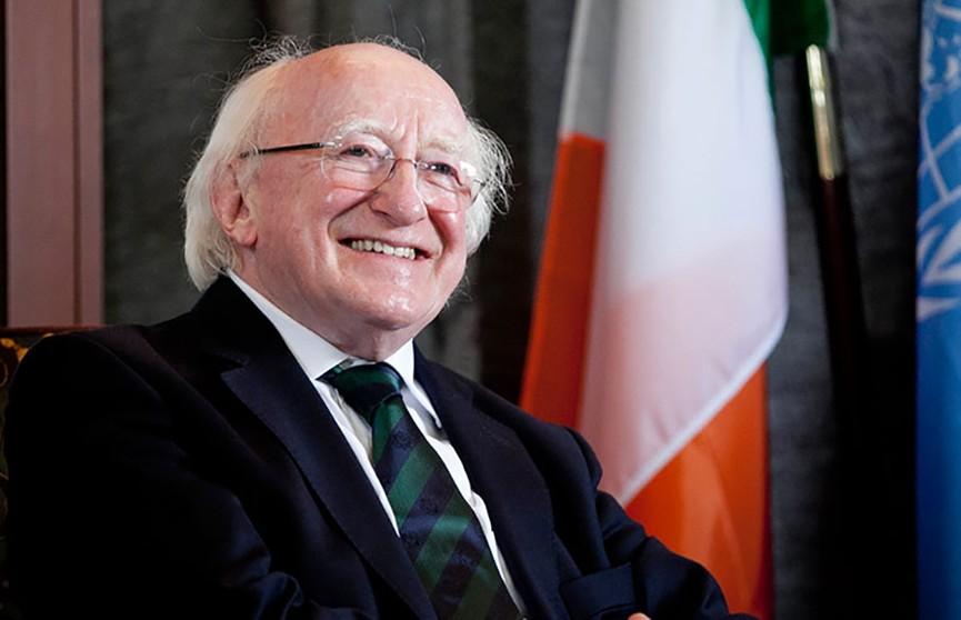 Александр Лукашенко поздравил президента Ирландии с Днем святого Патрика