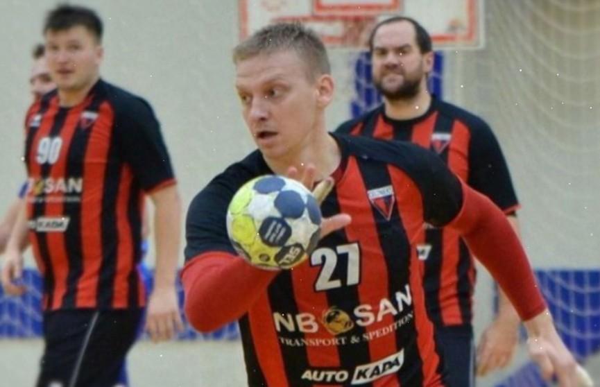 Белорусский гандболист Алексей Гайса признан лучшим легионером чемпионата Латвии
