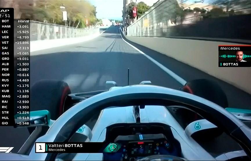 Четвёртый этап «Формулы-1» завершился в Баку