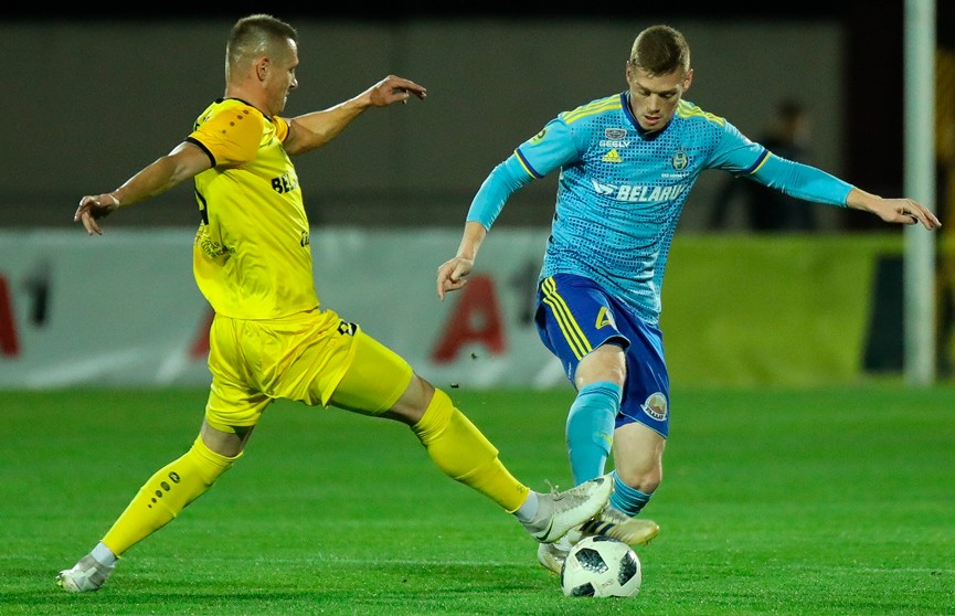 «Шахтер» и  БАТЭ сыграли вничью в чемпионате Беларуси по футболу