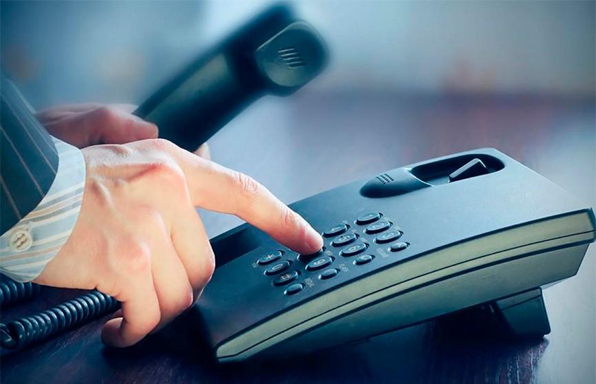 Члены Совета Республики проведут прямую телефонную линию с населением