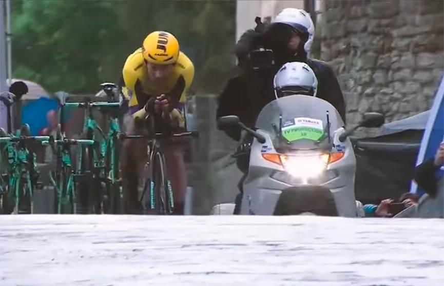 Примож Роглич выиграл 9-й этап велогонки «Джиро Д`Италия»