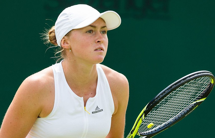 Александра Саснович вышла в четвертьфинал теннисного турнира WTA в Москве
