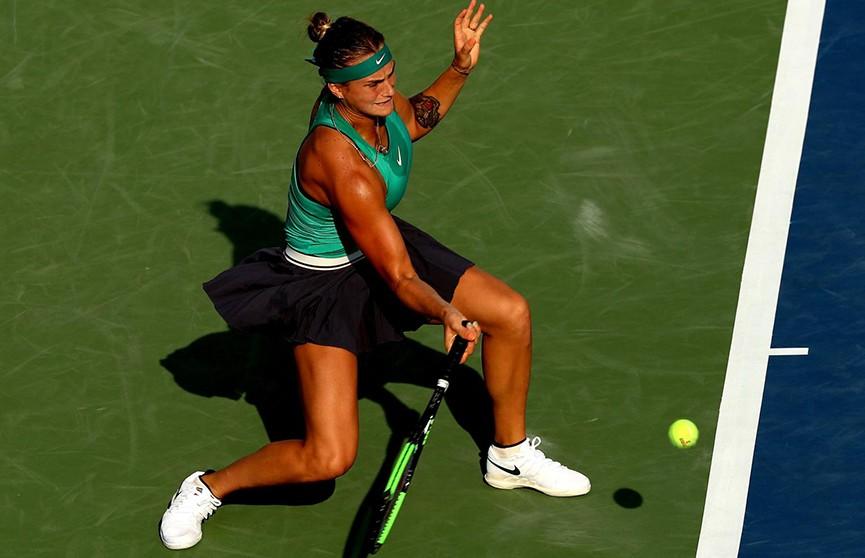 Арина Соболенко обыграла чешку Каролину Плишкову на теннисном турнире в Цинциннати