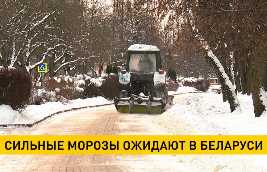 До -25 °C: в Беларуси ожидаются сильные морозы