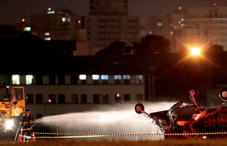 Самолёт разбился в Бразилии