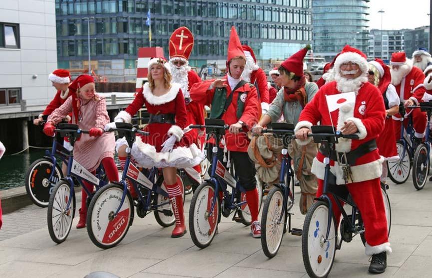 Копенгаген принимает ежегодный конгресс Санта-Клаусов