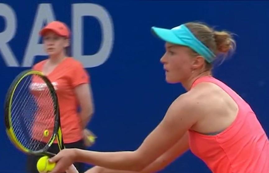 Александра Саснович поднялась на семь позиций рейтинга WTA