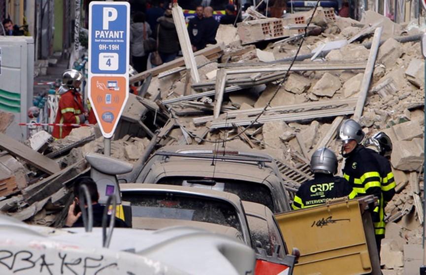 Два здания обрушились в Марселе: есть пострадавшие