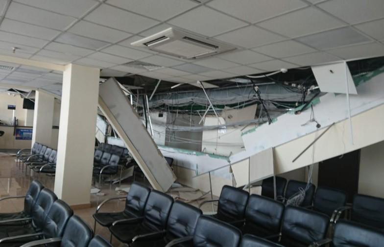 И снова рухнул потолок. На этот раз в минском визовом центре Литвы