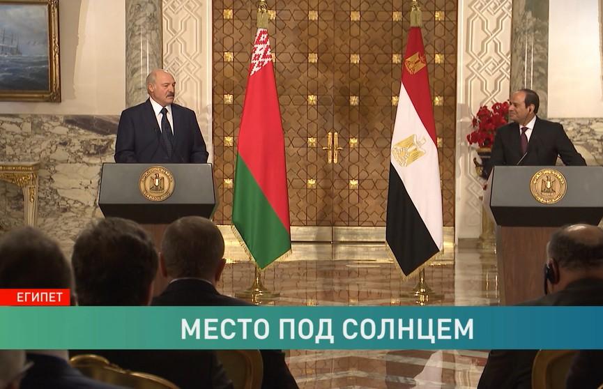 Визит Александра Лукашенко в Египет: итоги переговоров