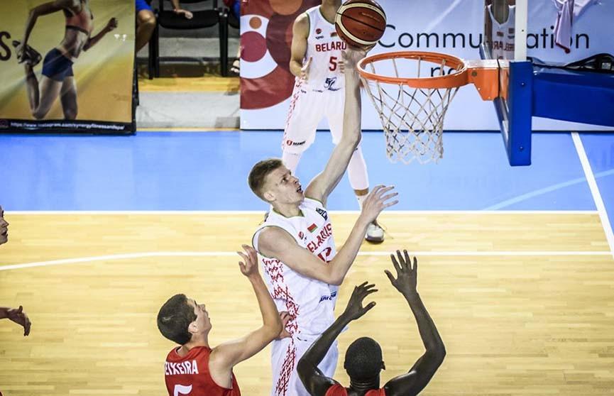 Белорусы потерпели первое поражение на юниорском чемпионате Европы по баскетболу во II дивизионе
