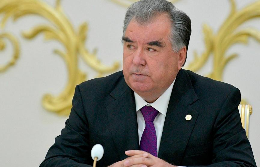 Эмомали Рахмон победил на президентских выборах в Таджикистане