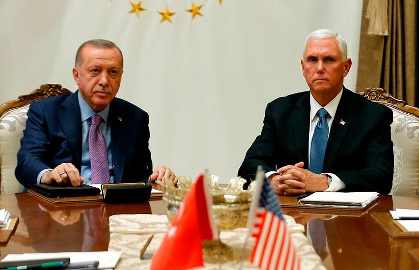 США убедили Турцию приостановить военную операцию в Сирии на 5 дней