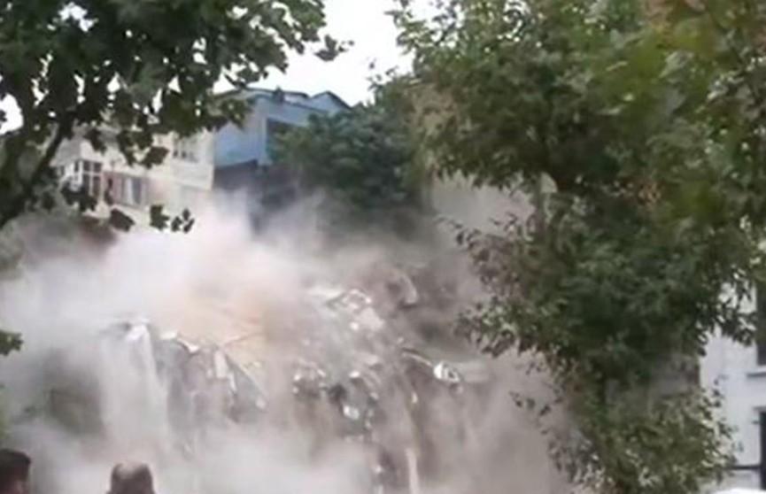 Ливни вызвали потоп в Стамбуле