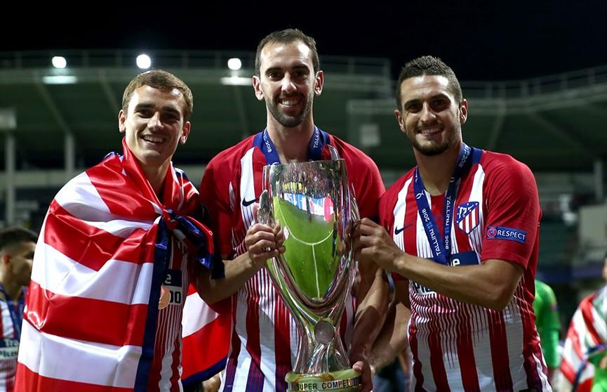 Мадридский «Атлетико» выиграл Суперкубок УЕФА, дожав «Реал» в овертайме