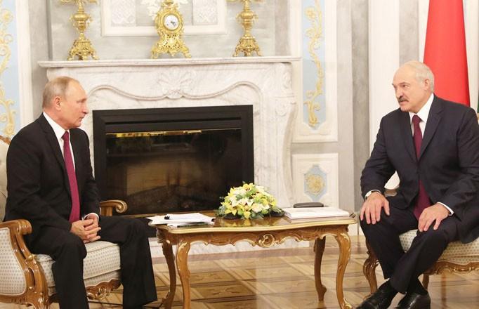 Состоялся телефонный разговор между Лукашенко и Путиным