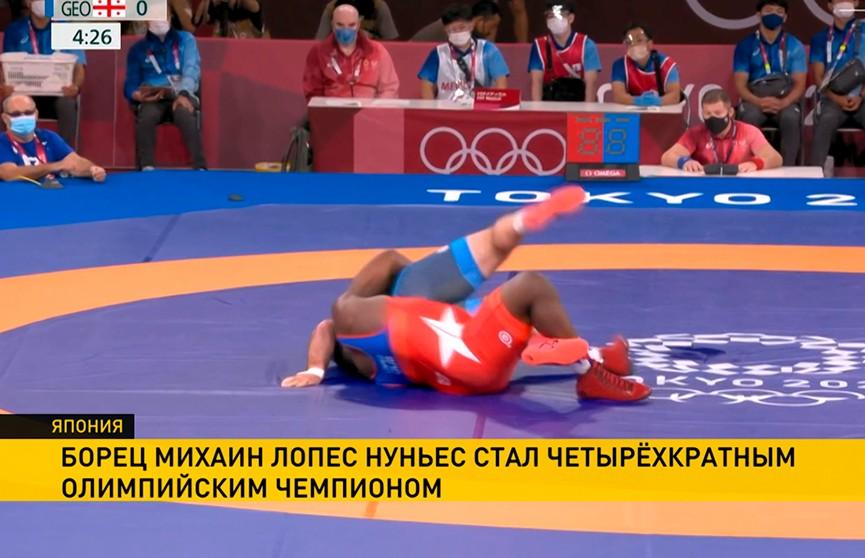 Исторический результат зафиксирован на Олимпиаде в соревнованиях по борьбе
