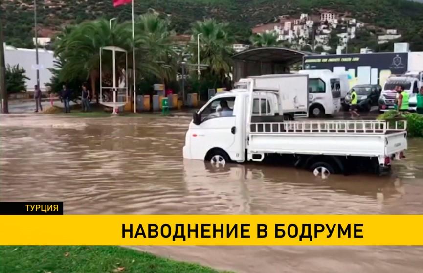 Наводнение в Бодруме: из пятизвездочных отелей эвакуировали гостей