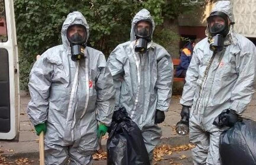 В подвале многоквартирного жилого дома в Гомеле во время ремонтных работ обнаружена пролитая ртуть.