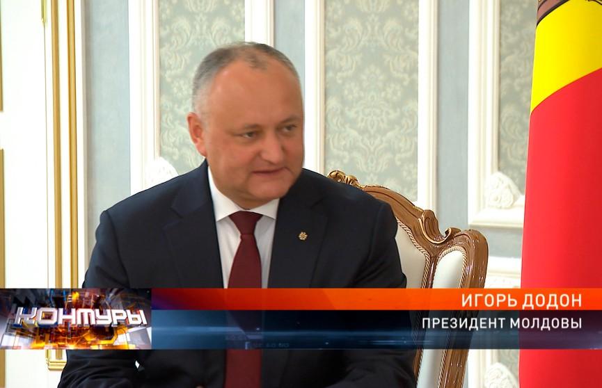 «Друзья рядом – и в беде, и в радости». Президент Молдовы посетил открытие II Европейских игр