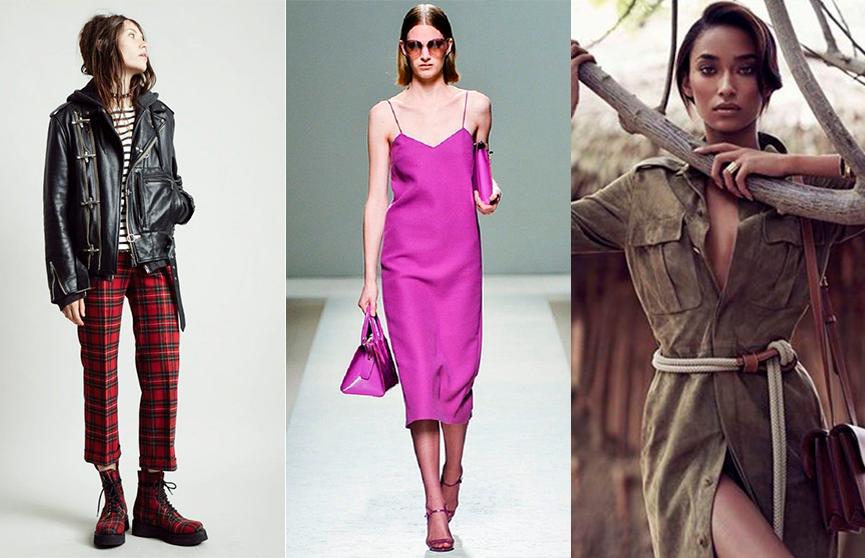 Стили одежды: рок, сафари и бельевой. Фото и описание