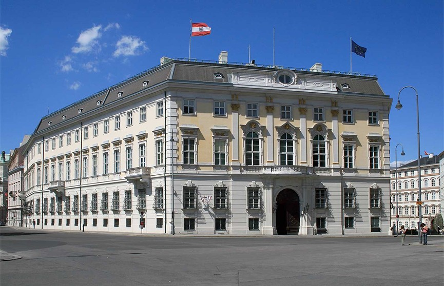 Министры переходного правительства Австрии принесли присягу