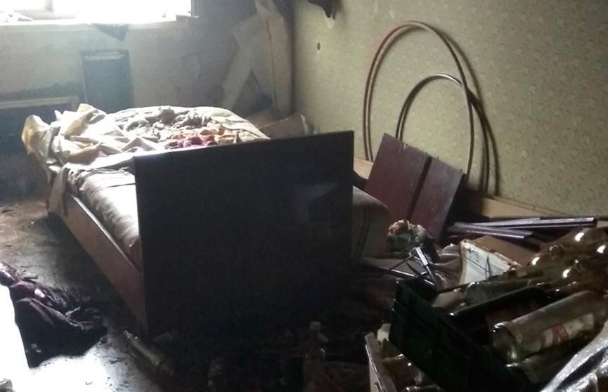 Пожар в девятиэтажке в Минске: погибли два человека