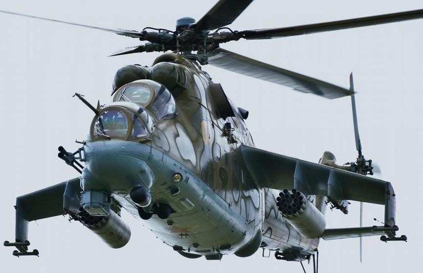 Старый вертолёт заново собрали мастера Оршанского авиаремонтного завода