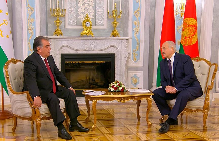 Итоги визита президента Таджикистана Эмомали Рахмона в Беларусь