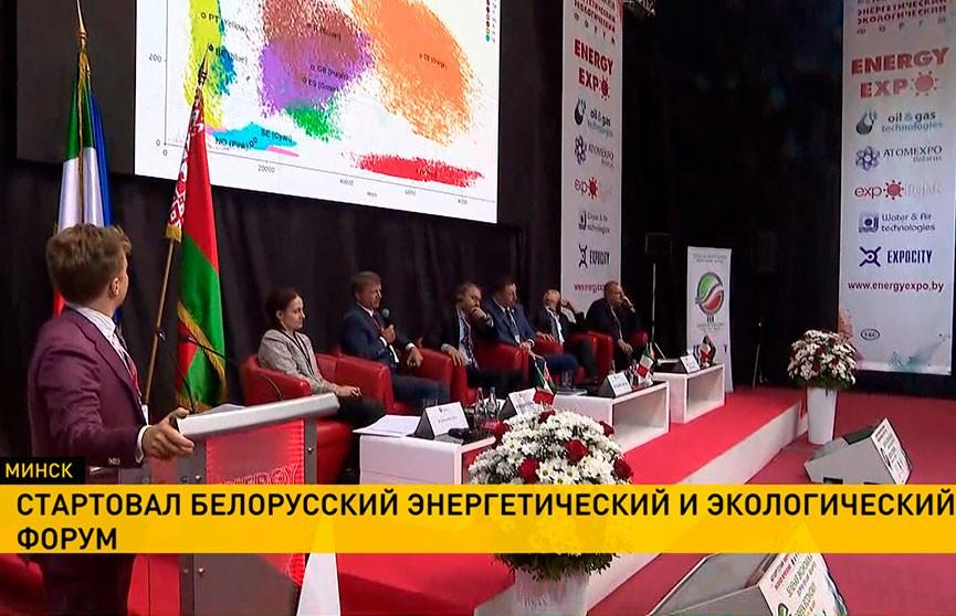 Белорусский энергетический и экологический форум: какие темы в центре внимания участников?