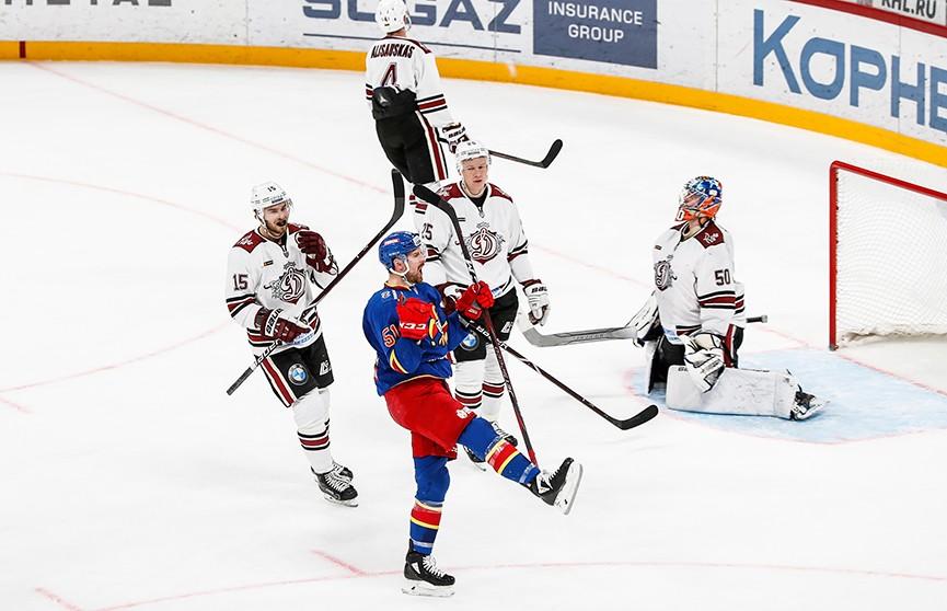 КХЛ: «Йокерит» разгромил рижское «Динамо»