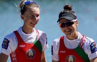 Белоруски Анастасия Янина и Елена Фурман завоевали золото на чемпионате Европы по академической гребле
