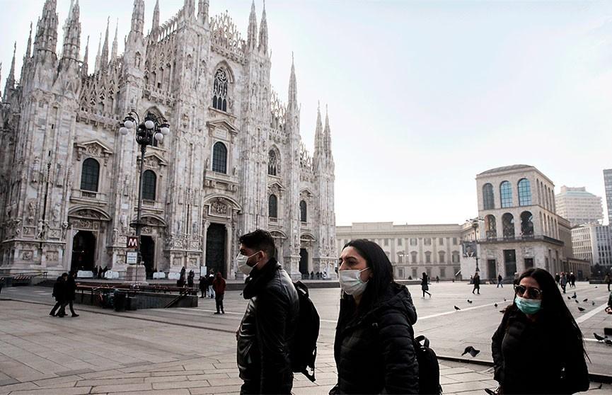 В Италии началось снижение темпов распространения COVID-19