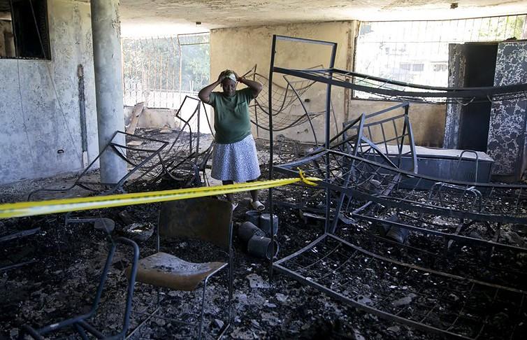 Пожар на Гаити унёс жизни 15 детей