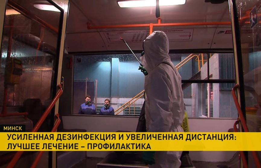 Усиленная дезинфекция и увеличенная дистанция: как в Беларуси соблюдают рекомендации ВОЗ