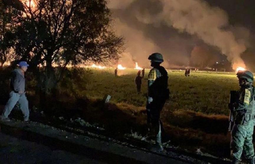 Число жертв взрыва газопровода в Мексике достигло 120 человек